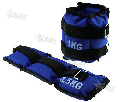 Ankle Weights Resistance Strength Training Wrist Bracelets Straps Gym Protect