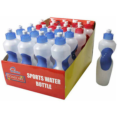 Sports Water Bottle Plastic 500Ml Drinks Bottle Hiking Camping Cycling Easy Grip