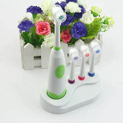 Home Automatic Rotating Electric Toothbrush Teeth care+3 Brush Head Tools Set