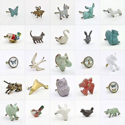 Animal Cupboard Knob Handle Or Pull. Animal Shaped Cupboard Drawer Knobs Handles
