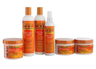 Cantu Shea Butter For Natural Hair Products *FREE POSTAGE & SAME DAY DISPATCH*