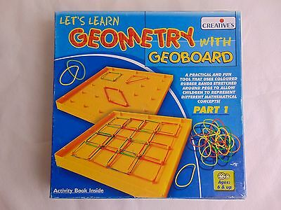 Let's Learn Geometry with Geoboard