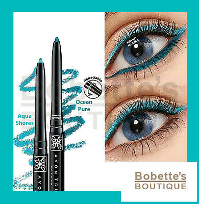 CRAYON EYELINER Rétractable AVON TRUE COLOUR Contour des Yeux Finition MATE