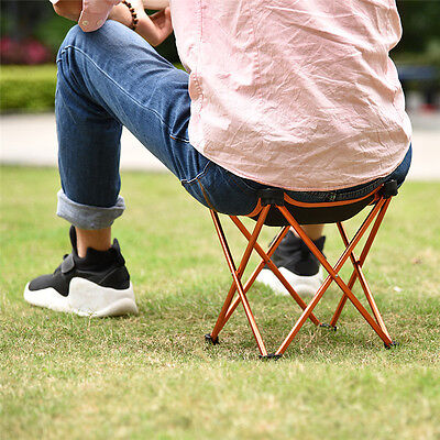Folding Portable Outdoor Chair Seat Stool Camping Fishing Picnic Travel Beach