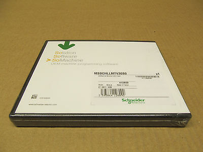1 Nib Schneider Electric Msdchllmtv30S0 So Machine Solution V 3.0 Team Software