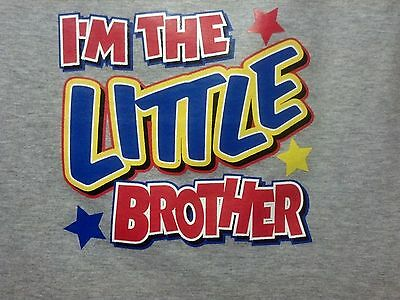 I'm The Little Brother! Tee Cute Sweet Infant Baby Toddler Youth T-Shirt