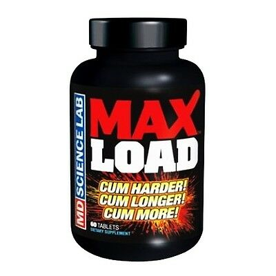 MD LABS MAX LOAD MALE SEXUAL ERECTILE ENHANCER ENHANCEMENT HERBAL PILLS 60 ct