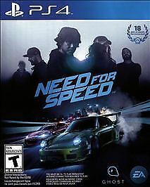 Need for Speed (Sony PlayStation 4, PS4) - COMPLETE