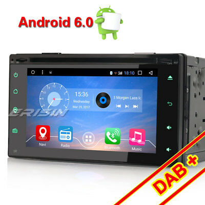 Android 6.0.1 Double 2 Din DAB+Car Stereo DVD Player GPS Sat Nav WiFi OBD DVR 3G