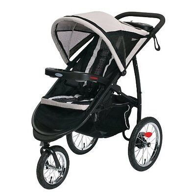 Graco Fastaction Fold Jogger Click Connect Stroller, Pierce