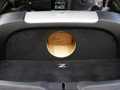 "Sub Box for Nissan 350z 1-10"" Fits all years, coupe only, subwoofer box  (Ver.1)"