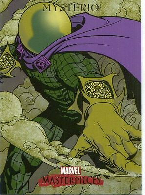 Marvel Masterpieces 2007 Base Card #60 Mysterio