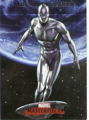 Marvel Masterpieces 2007 Base Card #77 The Silver Surfer
