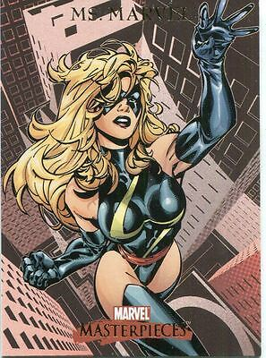 Marvel Masterpieces 2007 Base Card #59 Ms. Marvel