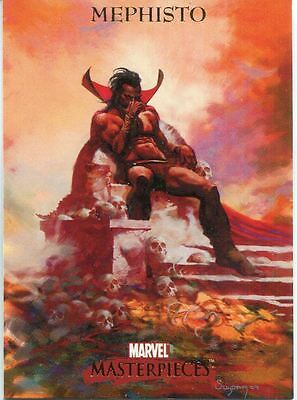 Marvel Masterpieces 2007 Base Card #56 Mephisto