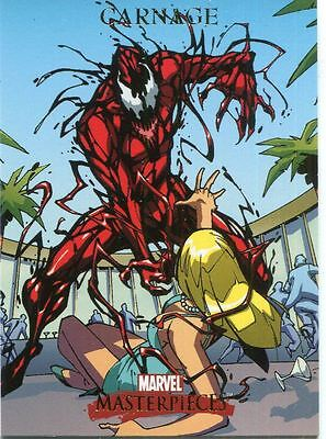 Marvel Masterpieces 2007 Base Card #17 Carnage