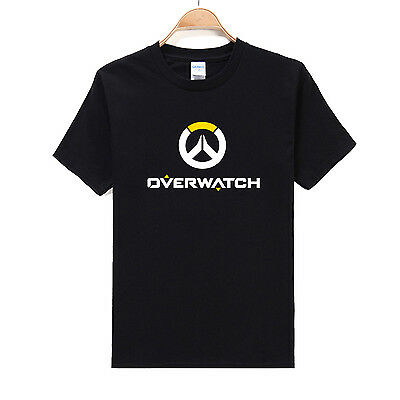 Multi-Color Overwatch Cotton Men's T-Shirts Short Sleeve Shirts