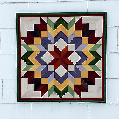 Handmade Barn Quilt Pallet Wood Primitive Rustic Country Decor