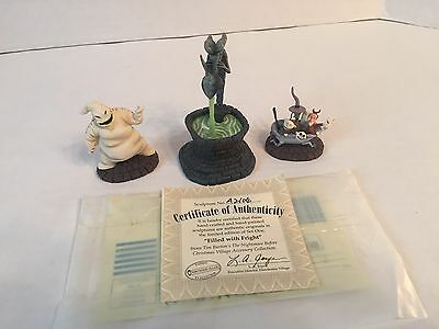 Hawthorne Village Nightmare Before Christmas Filled With Fright Figure Set