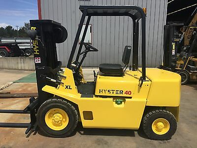 Hyster Forklift low hours one owner