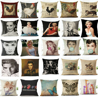 18'' pillow case cover Marilyn Monroe waist sofa bed cushion cover home cover