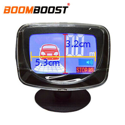Universal Car Reverse System Backup Parking Rear Alarm LCD Monitor Display