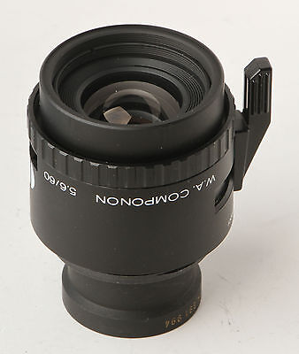 Schneider 60mm f5.6 WA componon enlarging lens for 6x6 or 6X7cm  RRP $1,000+
