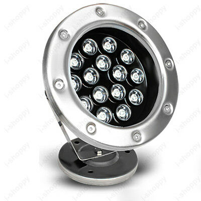 15W LED Outdoor Flood Light Underwater Lamp Bulb Swimming Pool Fountain Park 24V