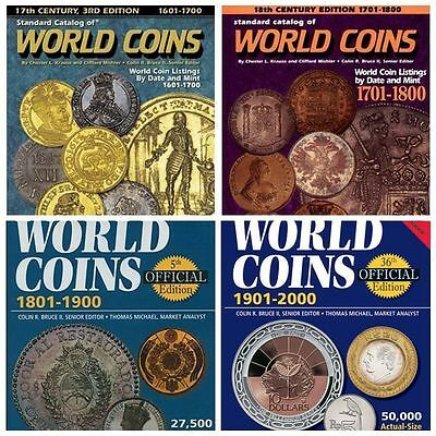 12 PDF coins books for world coins Collection catalog