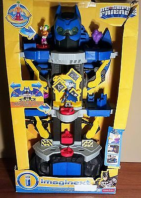 Fisher Price Imaginext Transforming Batcave 2016 Dc Super Friends New Sealed