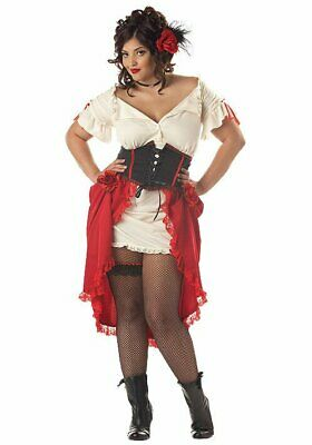 California Costumes Collections 01685 Plus Size Cantina Pirate Gal Costume