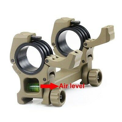 Air Level 25.4mm / 30mm Picatinny Weaver Tactical Hunting Rifle Scope Ring Mount