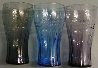 3 Coca-Cola Glasses McDonalds FIFA World Cup 2010 South Africa soccer