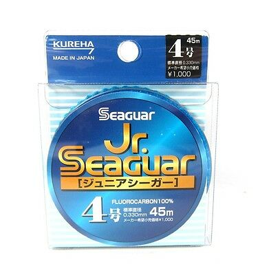 Seaguar Jr Fluorocarbon Leader Line 45m Size 4 16lb 0.33mm (3296)