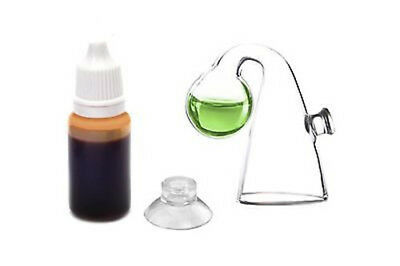 Aquarium Fish Notes Glass Co2 Drop Checker Tanl For Tester Monitor Hot
