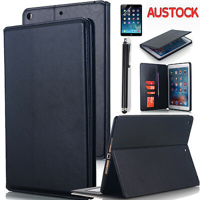 "For 2017 2018 iPad 9.7"" &Pro 10.5"" Folio Case Leather Smart Stand Cover Magnetic"