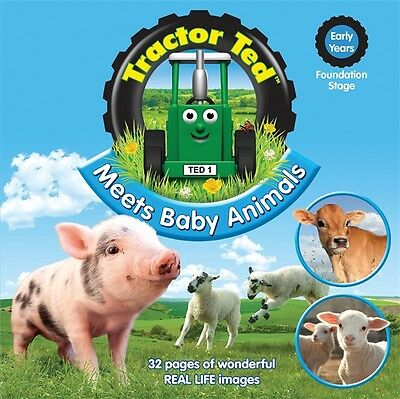 Tractor Ted Meets Baby Animals Book *OFFICIAL*