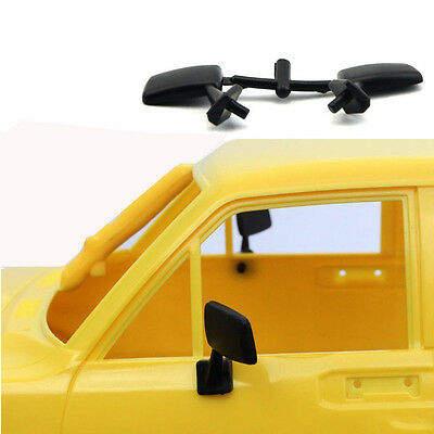 1/10 Rubber Flexible Mirrors For RC4WD Mojave Trailfinder Tamiya Hilux Axial TF2
