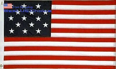New 3x5 ft 15 Stars USA Flag Star Spangled Banner American Includes Brass SALE!