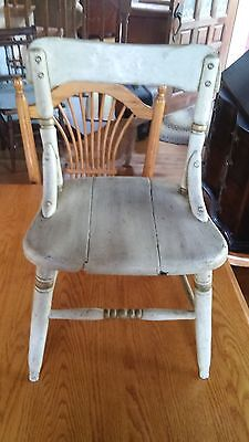 Vintage Child's Wooden Chair