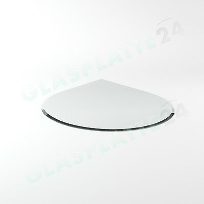 Spark Guard Plate Chimney Stove Glass Bottom Plate Baseplate Plate Glass G4 8mm