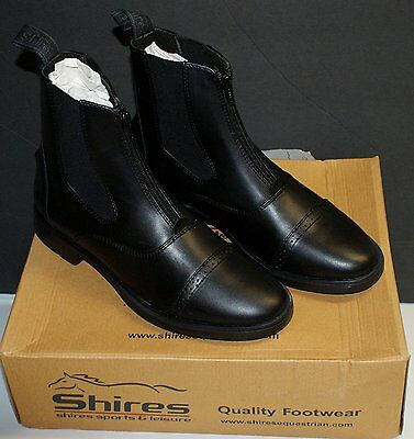 """Shires Childrens """"Harvies"""" Paddock Boots Black 5."""