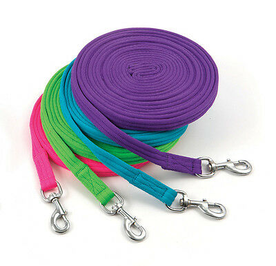 Shires Soft Feel Lunge Line Green 8M/26