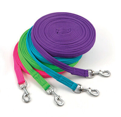Shires Soft Feel Lunge Line Purple 8M/26