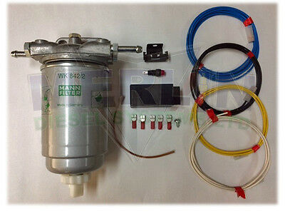 Universal Diesel Filter Assembly With Water Sensor M6047