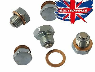 Strong Magnetic Oil Drain Bolt Sump Plug Heavy Duty Quality Various Sizes