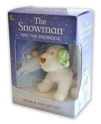 The Snowman and the Snowdog: Book and Toy Giftset by Raymond Briggs | Toy Book |