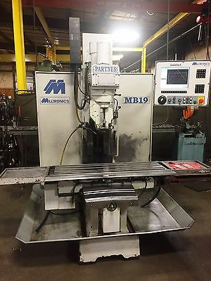MILLTRONICS CNC Vertical Bed Mill Model MB19 3-Axis Milling Machine