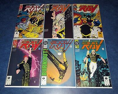 the RAY #1 2 3 4 5 6 1st print set DC COMIC 1992 1st app & origin CW TY SHOW GAY