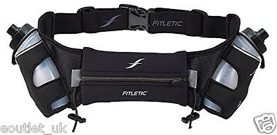 Fitletic Neoprene Hydration Running Sports Water Belt 16 oz NEW s/m